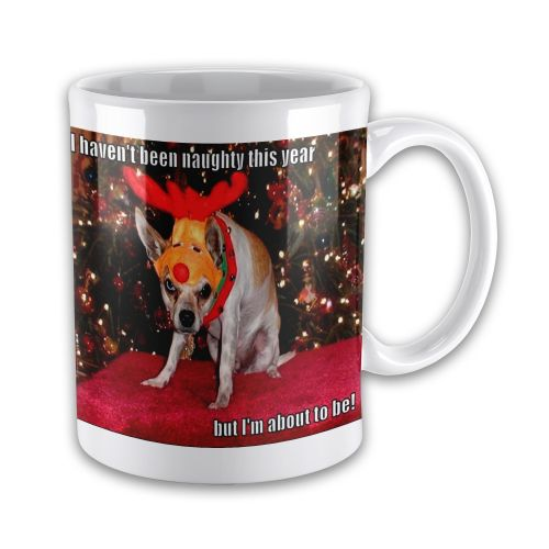 II Haven't Been Naughty This Year But I'm About To Be Funny Xmas Gift Mug